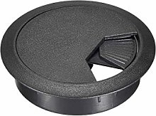 DyniLao Cable Hole Cover, 53mm Plastic Desk
