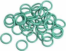 DyniLao Fluoride Rubber O-Rings, 10.5mm OD 7.5mm