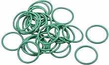 DyniLao Fluoride Rubber O-Rings, 20mm OD 16mm ID