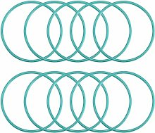 DyniLao Fluoride Rubber O-Rings, 55mm OD 50.2mm ID