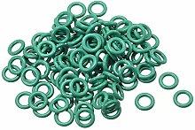 DyniLao Fluoride Rubber O-Rings, 5mm Outside