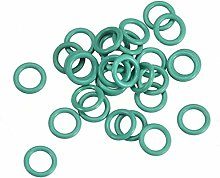 DyniLao Fluoride Rubber O-Rings, 6mm OD 4mm ID 1mm