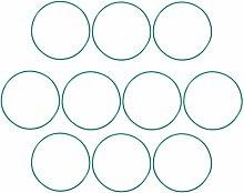DyniLao Fluoride Rubber O-Rings, 81mm OD 77.2mm ID