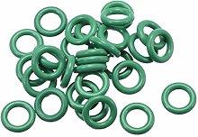DyniLao Fluoride Rubber O-Rings, 9.5mm OD 5.7mm ID