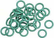 DyniLao Fluoride Rubber O-Rings, 9mm OD 6mm ID