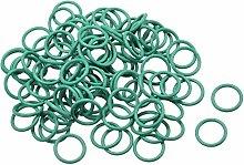 DyniLao Fluoride Rubber O-Rings, 9mm OD 7mm ID 1mm
