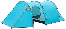 DYSND 4 Man Tent Waterproof, Four Person 2 Bedroom