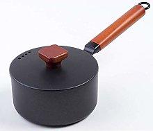 DYXYH Iron Pots Not Sticky Soup Pot Hot Milk Pot