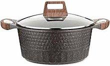 DYXYH Soup Pot - Stone Pot Set Wok Soup Pot