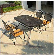 DYYD Aluminum Outdoor Bistro Set Patio Furniture