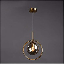 DZHT Modern Pendant Ceiling Lamps Simple Glass LED
