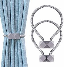 DZONMG Curtain Tiebacks, Magnetic Curtain Clips