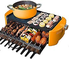 DZXCB Table Barbecue Electric, Hot Pot Barbecue 2