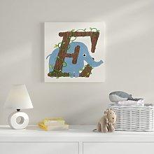 E Canvas Art HoneyBee Nursery
