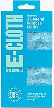e-cloth General Purpose Cleaning Cloths, Pack of 2