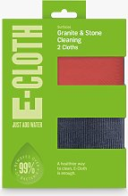 e-cloth Granite Cleaning Cloths, Pack of 2