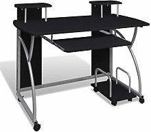 E-Greetshopping Computer Desk with Pull-out