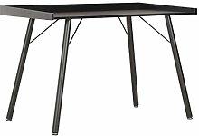 E-Greetshopping Desk Black 90x50x79 cm