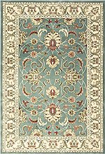 e-Rugs Classic Kendra Floral Abstract Bordered
