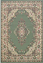 e-Rugs Classic Keshan Floral Bordered Designer