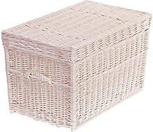 e-wicker24 Wicker Chest, basket, beige, 70  x  42