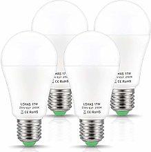 E27 A60 LED Bulbs, LOHAS 2700K Warm White Light,