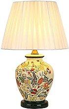 E27 Ceramic Table Lamp, Nordic Style LED Desk Lamp