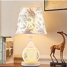 E27 Classic Ceramics Table lamp Art Retro Bedroom