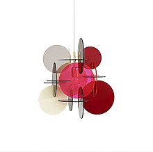 E27 Nordic Light Luxury Creative Chandelier,Color