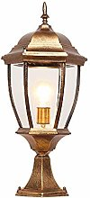 E27 Outdoor Sock Lamp Garden Lamp with Glass