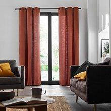 Eaddy Eyelet Room Darkening Single Curtain Madura