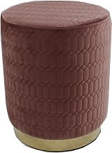 Eagels Footstool Fairmont Park Upholstery Colour: