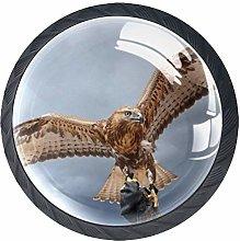 Eagle Crystal Drawer Handles Furniture Glass