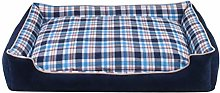 EANSSN Dog Bed, Lattice Pet Nest, Removable And