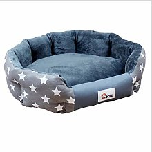 EANSSN Dog Bed, Pet Nest, Removable And Washable