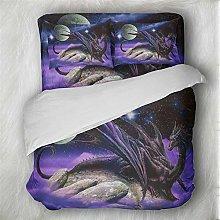 Earendel Dragon Duvet Cover Set 3D Bedding