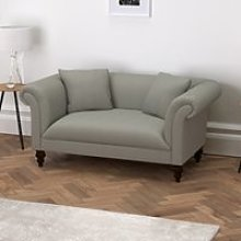 Earlsfield Cotton Sofa, Grey Cotton, One Size