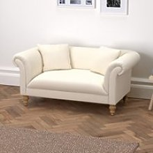 Earlsfield Cotton Sofa, Pearl Cotton, One Size