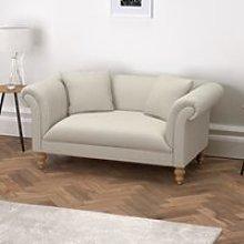 Earlsfield Cotton Sofa, Silver Cotton, One Size