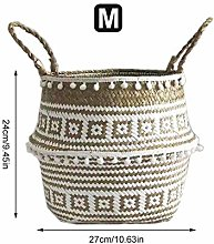 earlyad Seetang Flower Basket Foldable Binaural