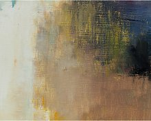 Earth Abstract Canvas Print, 61 x 81cm, Brown/Multi