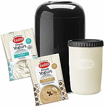 EasiYo Black 1Kg Yogurt Maker Starter Pack