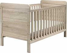 East Coast Nursery Fontana Baby Cot Bed - Washed