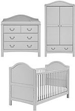 East Coast Toulouse Cot Bed, Dresser and Wardrobe,