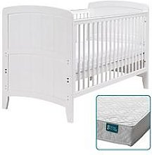 East Coast Venice Cot Bed & Spring Mattress