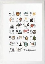 East End Prints Alphabet By Kid Of The Village A3