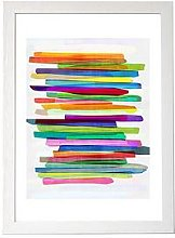 East End Prints Colourful Stripes By Mareike