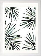 East End Prints Ferns By Native State A3 Framed