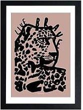 East End Prints Live Brave Pink By Wonder And Rah