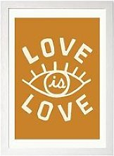 East End Prints Love Is Love By Tree X Three A3
